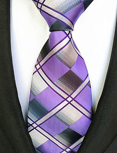Men's Stripes Necktie - Striped