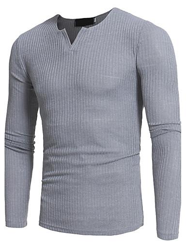 Vékony Férfi Extra méret Póló - Egyszínű