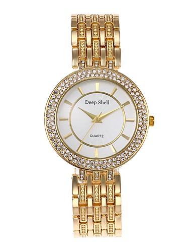Női Szkeleton óra / Szimulált Gyémánt Karóra Kínai Hot eladó ötvözet Zenekar Alkalmi / Divat Ezüst / Arany