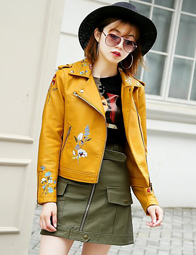 Women's Simple Casual Jacket Print