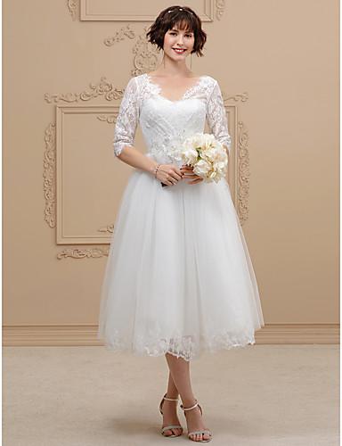 свадебное платье из тюля с длинными рукавами длиной до 8 см с манжетой