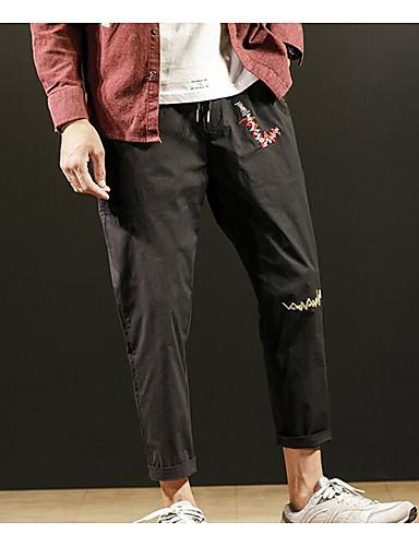 בגדי ריקוד גברים פעיל כותנה הארם מכנסיים אחיד
