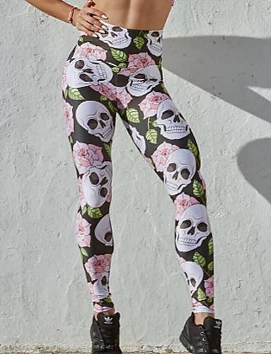 צועד - צבעים מרובים הדפס מותניים גבוהים בגדי ריקוד נשים