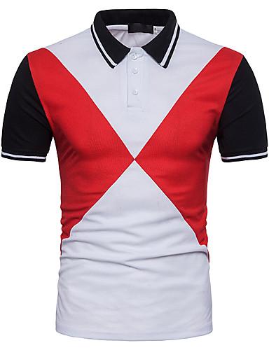צווארון חולצה סגנון רחוב Polo-בגדי ריקוד גברים