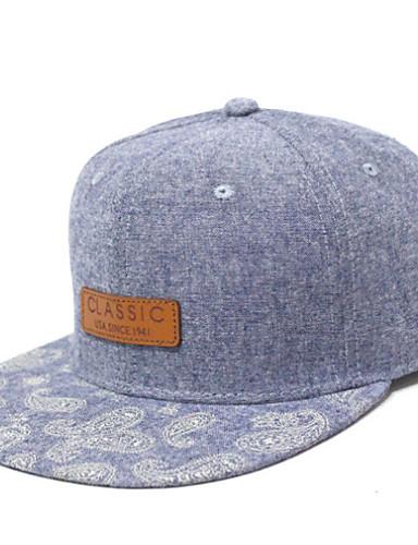 אפור כהה כחול בהיר אפור בהיר כובע שמש כותנה קיץ סתיו יום יומי