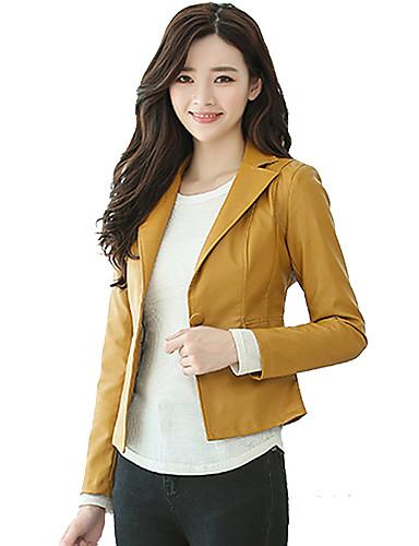 Munka Állógallér Női Kožnate jakne - Egyszínű
