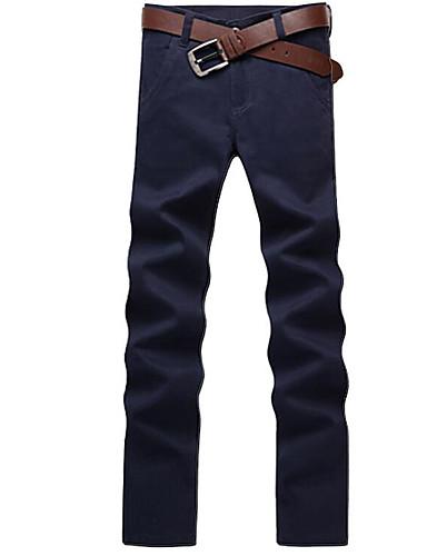 בגדי ריקוד גברים בסיסי צ'ינו מכנסיים אחיד