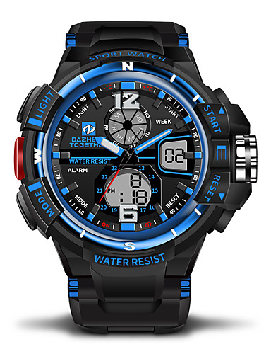 Pánské   Dámské Hodinky na běžné nošení   Sportovní hodinky japonština  Kalendář   Voděodolné   Hodinky 6a57c31767