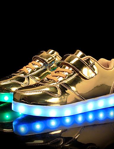 8300de4bb68 Αγορίστικα / Κοριτσίστικα Παπούτσια PU Άνοιξη / Φθινόπωρο Ανατομικό / Φωτιζόμενα  παπούτσια Αθλητικά Παπούτσια Περπάτημα Κορδόνια /