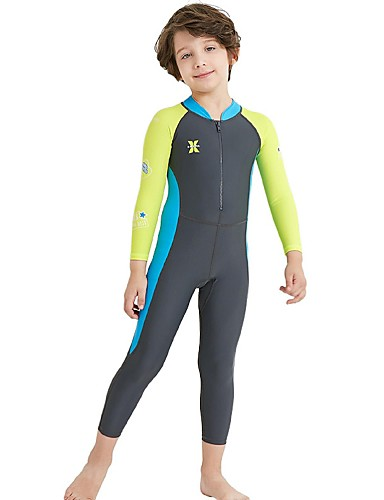 488261f65e cheap Wetsuits, Diving Suits & Rash Guard Shirts-Boys' Rash · Boys'  Rash Guard Dive Skin Suit Spandex Diving Suit SPF30 UV Sun ...
