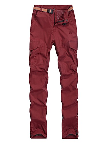 4fb5d785cb Men's Solid Color Hiking Pants Outdoor Breathable Moisture Wicking Quick  Dry Stretchy Spring, Fall, Winter, Summer Pants / Trousers Bottoms Hiking  Outdoor ...