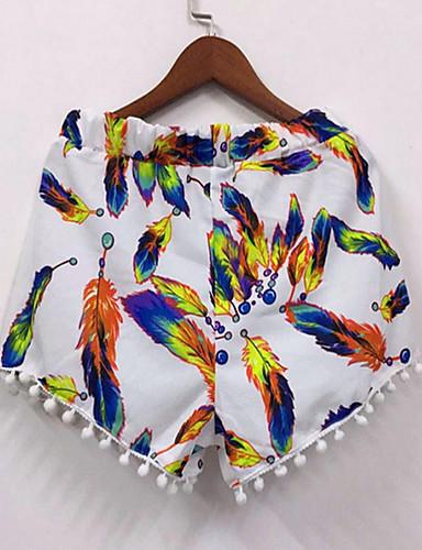 Damskie Podstawowy Typu Chino Spodnie Geometric Shape