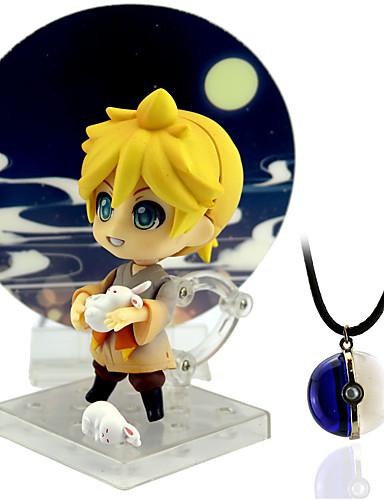 halpa Cosplay ja rooliasut-Anime Toimintahahmot Innoittamana Cosplay Kagamine Rin PVC 10 cm CM Malli lelut Doll Toy