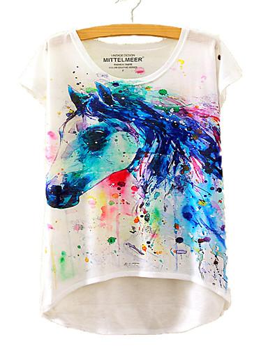 Pentru femei Tricou Animal Imprimeu