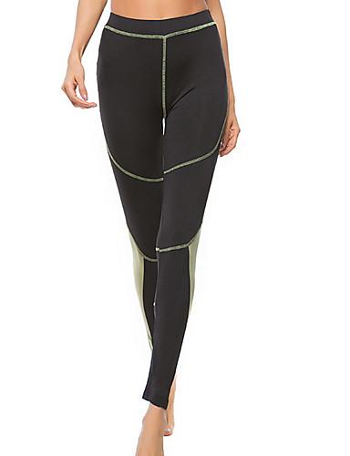 Pentru femei Sport Legging - Dungi Talie Înaltă