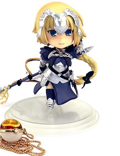 halpa Cosplay ja rooliasut-Anime Toimintahahmot Innoittamana Kohtalo / suuruusjärjestys Jeanne d'Arc PVC 10 cm CM Malli lelut Doll Toy