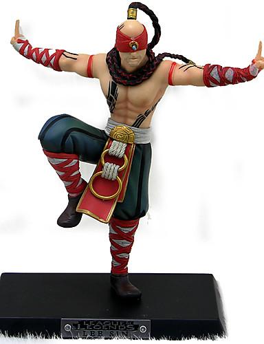 billige Cosplay og kostumer-Anime Actionfigurer Inspireret af LOL Superhelte Edward Elric PVC 18 cm CM Model Legetøj Dukke Legetøj