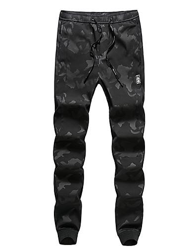 Bărbați De Bază / Șic Stradă Harem / Pantaloni Chinos Pantaloni camuflaj