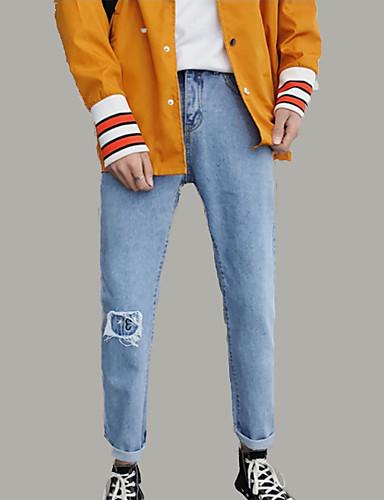 Bărbați Activ / De Bază Blugi Pantaloni Mată