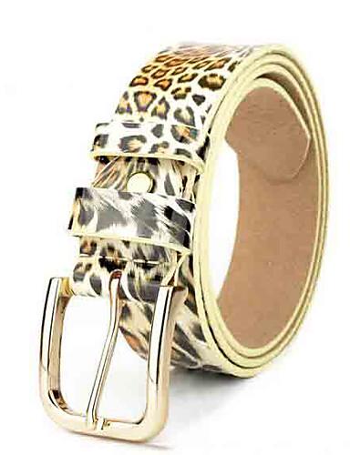 Pentru femei Leopard De Bază Curea Talie