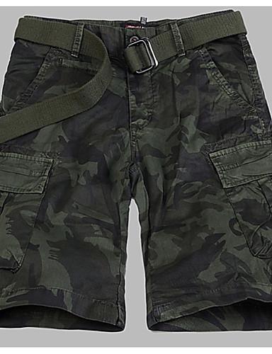 Bărbați Militar Pantaloni Scurți Pantaloni camuflaj