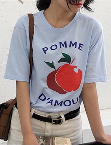 Majica s rukavima Žene - Osnovni Dnevno Jednobojni