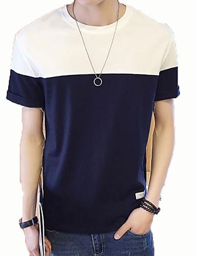 Majica s rukavima Muškarci Dnevno / Izlasci Color block