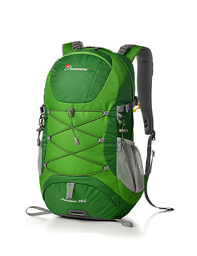 20a664ab97c5 Mountaintop® Hiking Backpack 30 L - Breathability Outdoor Hiking Travel  Nylon Red Green Blue