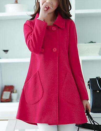 1ef1bdcb7bd1 abordables Manteaux  amp  Trenchs pour Femme-Femme Quotidien   Travail  Basique   Chic de
