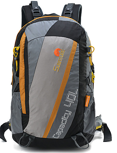 5bfe13846f Hiking Backpack 40 L - Rain Waterproof Breathability Wearable Outdoor Hiking  Camping Travel Orange Green Blue