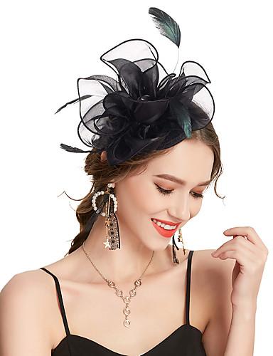 ราคาถูก กระเป๋าแฟชั่นและเครื่องประดับ-สำหรับผู้หญิง Kentucky Derby สีพื้น ผ้า ดอกไม้,วินเทจ สง่างาม-Cubic Zirconia / งานแต่งงาน / ซาติน / ทุกฤดู