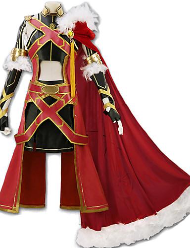 voordelige Cosplay & Kostuums-geinspireerd door Fate / Grand Order Alexander Iskandar Anime Cosplaykostuums Japans Cosplay Kostuums Art Deco / Nieuwigheid Rok / Korset / Mantel Voor Unisex
