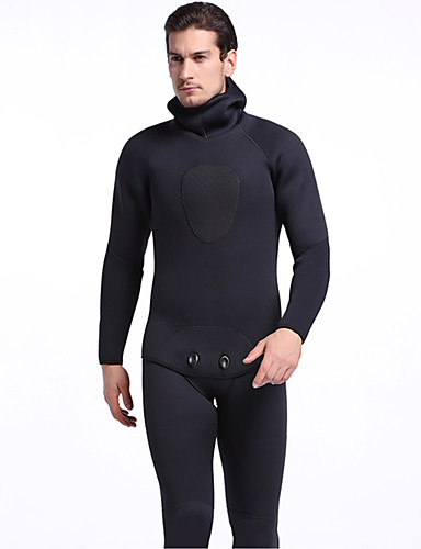 248ff957ee SBART Men s Full Wetsuit 5mm SCR Neoprene Clothing Suit Anatomic Design Stretchy  Long Sleeve Autumn   Fall Spring Summer   Winter   Micro-elastic
