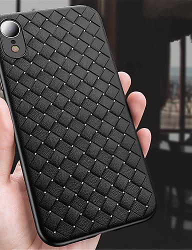 Θήκη Za Apple iPhone XS / iPhone XR / iPhone XS Max Reljefni uzorak Stražnja maska Jednobojni Mekano TPU