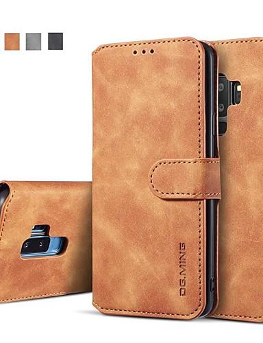 Θήκη Za Samsung Galaxy S9 / S9 Plus / S8 Plus Novčanik / Utor za kartice / sa stalkom Korice Jednobojni Tvrdo PU koža