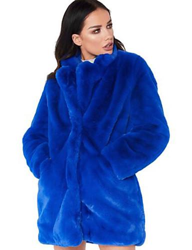 70c0c383cdf abordables Abrigos de pieles y de piel sintético de mujer-Mujer Trabajo    Discoteca Sensual