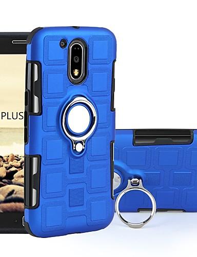 Θήκη Za Motorola Moto G4 Plus / MOTO G4 Otporno na trešnju / Prsten držač Stražnja maska Oklop Tvrdo PC