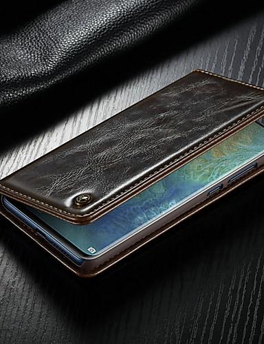 Θήκη Za Huawei Huawei Mate 20 Novčanik / Utor za kartice / sa stalkom Korice Jednobojni Tvrdo PU koža