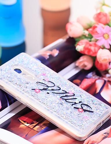 Θήκη Za Xiaomi Xiaomi Redmi Note 4 Otporno na trešnju / Šljokice Stražnja maska Šljokice Mekano TPU