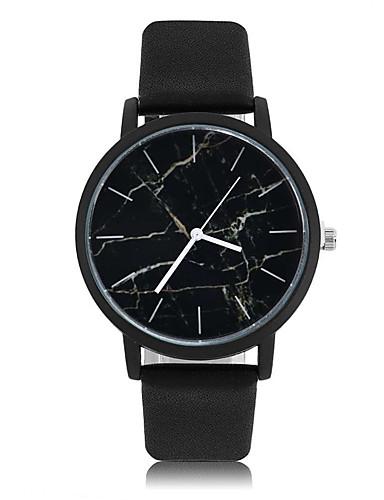aad77e4267aa Geneva Hombre Reloj Deportivo Reloj de Pulsera Cuarzo Piel Negro 30 m Reloj  Casual Mármol Analógico