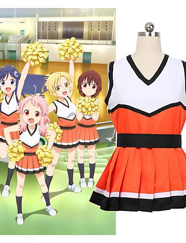 """billige Anime cosplay-Inspirert av Cosplay Cosplay Anime  """"Cosplay-kostymer"""" Cosplay Klær Annen Ermeløs Skjørte Til Dame"""
