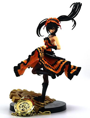 halpa Cosplay ja rooliasut-Kello / Rannekello Anime Toimintahahmot Innoittamana Date A Live Kurumi Tokisaki PVC Metalliseos 22 cm CM Malli lelut Doll Toy