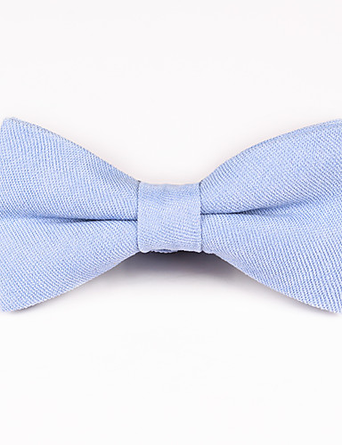 cheap Men's Ties & Bow Ties-Unisex Party / Active / Basic Bow Tie - Solid Colored