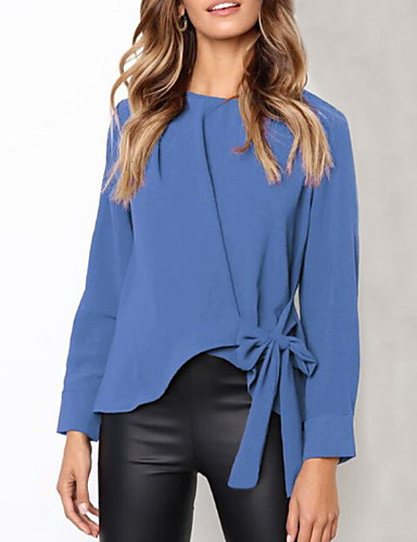 povoljno Majica-Bluza Žene - Osnovni Rad Jednobojni Crn