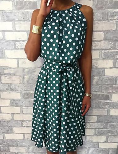 9c74ae92fb12 cheap Women  039 s Dresses-Polka Dots Dresses Women  039 s