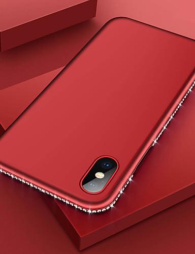 Etui Käyttötarkoitus Apple iPhone XS / iPhone XR / iPhone XS Max Paljetti / Ultraohut Takakuori Tekojalokivi Pehmeä TPU