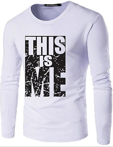 100% Vero T-shirt Per Uomo Con Stampe, Tinta Unita Rotonda - Cotone Blu Marino Xxxl #07169442 Domanda Che Supera L'Offerta