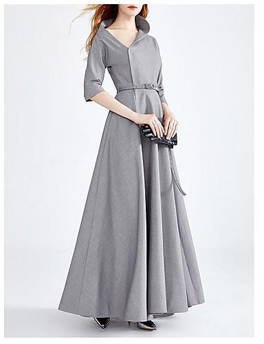 97ae750d3a40 Γυναικεία Βασικό Swing Φόρεμα - Μονόχρωμο