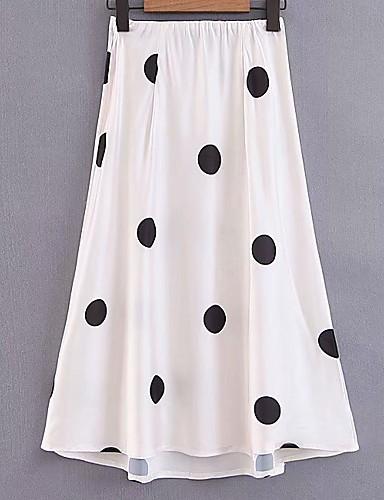 cd49b5d4eca4 Γυναικεία Κούνια Μακρύ Φούστες - Πουά. $24.30. USD $16.99 (3). Χαμηλού  Κόστους Γυναικείες Φούστες-φούστες μίνι μίνι γυναικών - polka dot