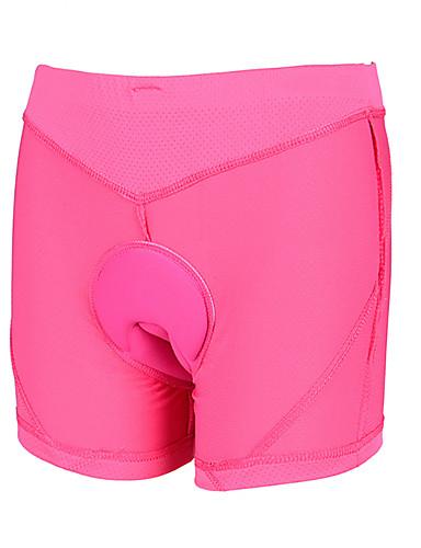 cheap Cycling Clothing-Wheel up Women's Cycling Shorts Bike Shorts Bottoms Breathable Sports Pink Mountain Bike MTB Road Bike Cycling Clothing Apparel Bike Wear / High Elasticity